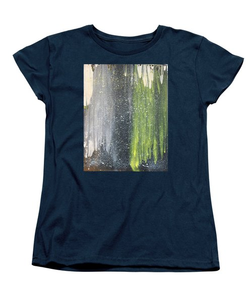 His World Women's T-Shirt (Standard Cut) by Cyrionna The Cyerial Artist
