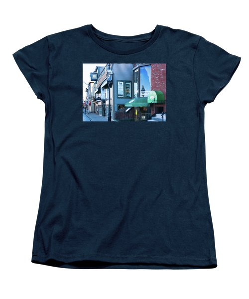 Historic Newport Buildings Women's T-Shirt (Standard Cut) by Nancy De Flon