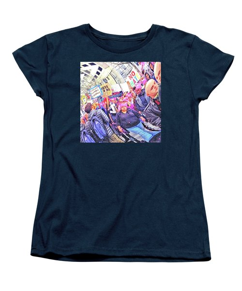 Historic Times Women's T-Shirt (Standard Cut) by Tobeimean Peter