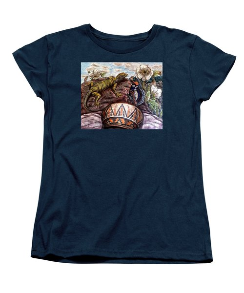 Hmm...dinnertime? Women's T-Shirt (Standard Cut) by Kim Jones