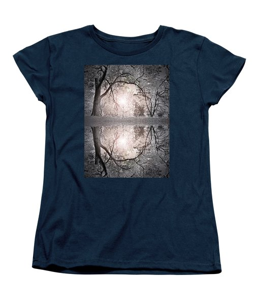 Women's T-Shirt (Standard Cut) featuring the photograph Hold Me In This Pale Light by Tara Turner