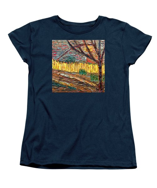 Hold The Thought Firmly... Women's T-Shirt (Standard Cut) by Vadim Levin
