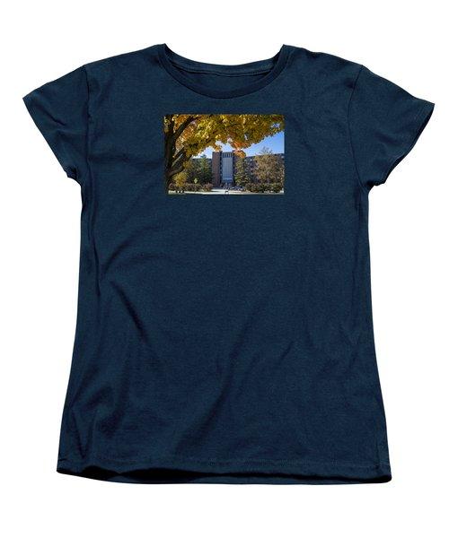 Holden Hall Cropped  Women's T-Shirt (Standard Cut) by John McGraw
