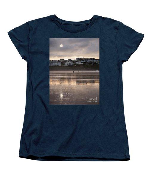 Hole In The Clouds Women's T-Shirt (Standard Cut) by Nicholas Burningham