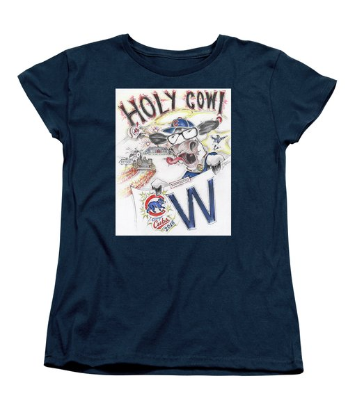 Holy Cow  Women's T-Shirt (Standard Cut) by Scott and Dixie Wiley