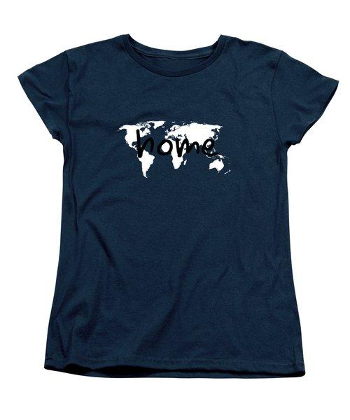 Home 1 Women's T-Shirt (Standard Cut) by Paulette B Wright