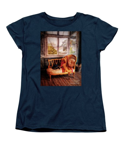 Home  At Last ... Women's T-Shirt (Standard Cut) by Chuck Caramella