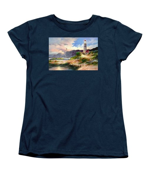 Home For The Night Women's T-Shirt (Standard Cut) by Ron Chambers