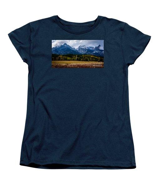 Home Sweet Home Women's T-Shirt (Standard Cut) by Sandy Molinaro