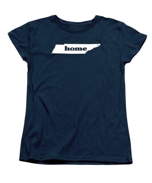 home TN on Green Women's T-Shirt (Standard Cut) by Heather Applegate