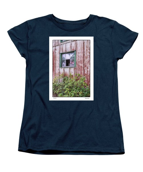Women's T-Shirt (Standard Cut) featuring the photograph Homestead by R Thomas Berner