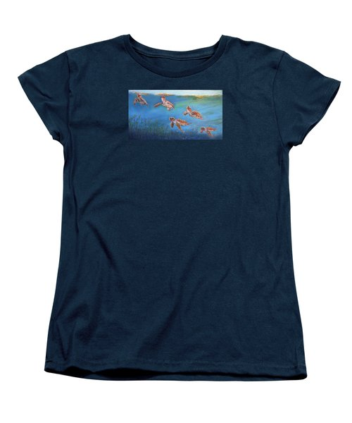 Homeward Bound Women's T-Shirt (Standard Cut) by Ceci Watson
