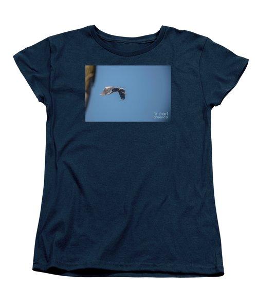 Women's T-Shirt (Standard Cut) featuring the photograph Homing Home by David Bearden