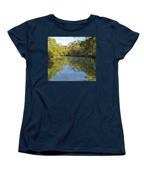 Homosassa River Women's T-Shirt (Standard Cut) by D Hackett