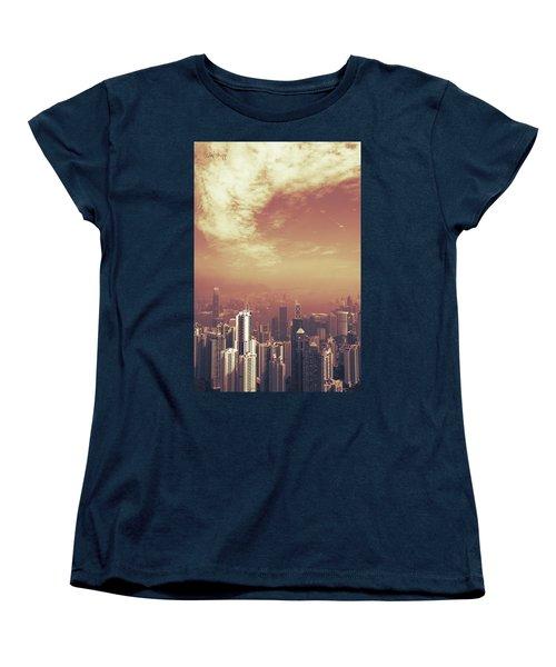 Women's T-Shirt (Standard Cut) featuring the photograph Hong Kong Portrait by Joseph Westrupp