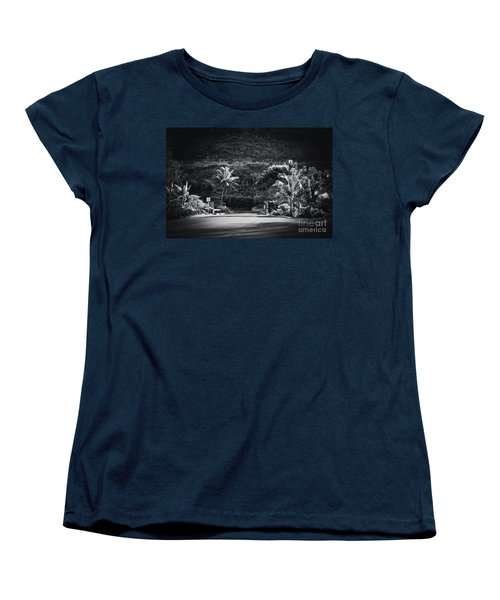 Women's T-Shirt (Standard Cut) featuring the photograph Honokohau Maui Hawaii by Sharon Mau