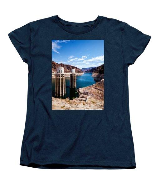 Hoover Dam Women's T-Shirt (Standard Cut) by Daniel Heine