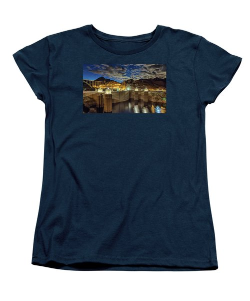 Women's T-Shirt (Standard Cut) featuring the photograph Hoover Dam by Michael Rogers