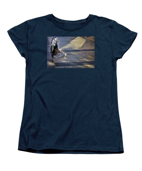 Hope On Champs-elysee Women's T-Shirt (Standard Cut) by John Hansen
