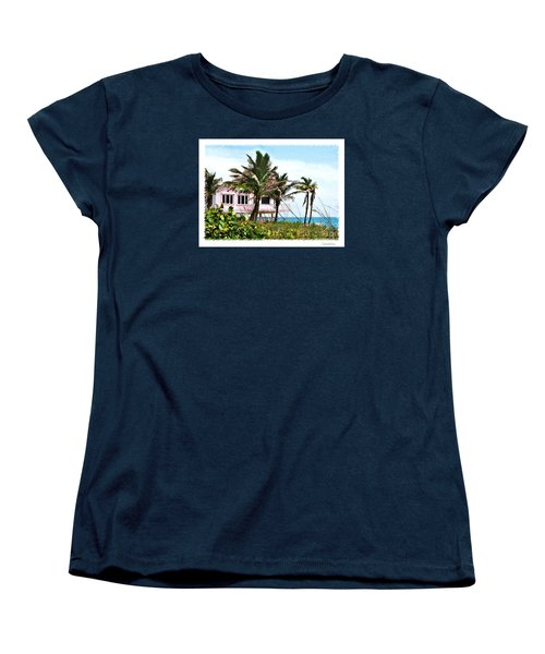 Women's T-Shirt (Standard Cut) featuring the photograph Hope Sound House by Linda Olsen