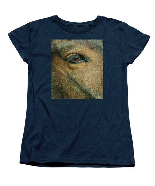 Horses Eye Women's T-Shirt (Standard Cut)