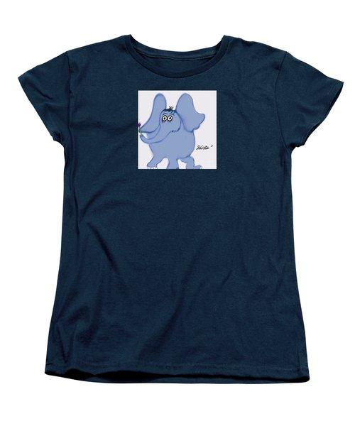 Horton Women's T-Shirt (Standard Cut) by Susan Garren