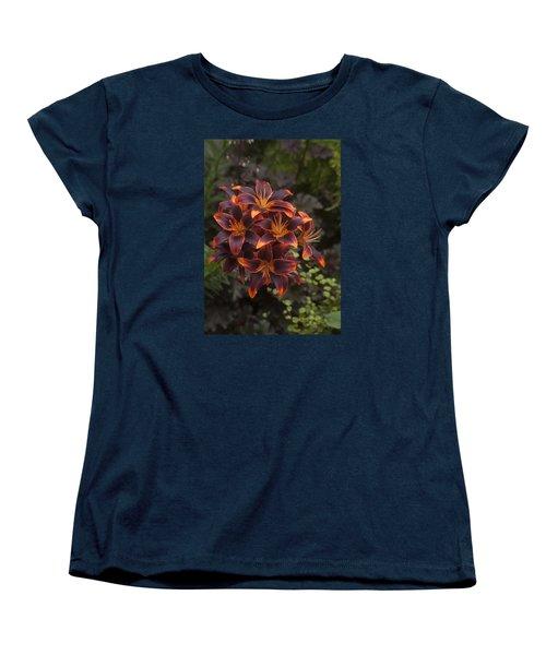 Hot Bouquet Women's T-Shirt (Standard Cut) by Morris  McClung