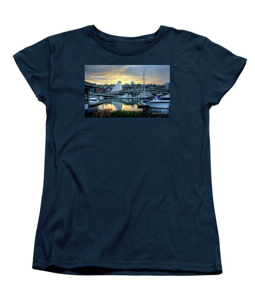 Hot Shop Cone Cloudy Twilight Women's T-Shirt (Standard Cut) by Chris Anderson