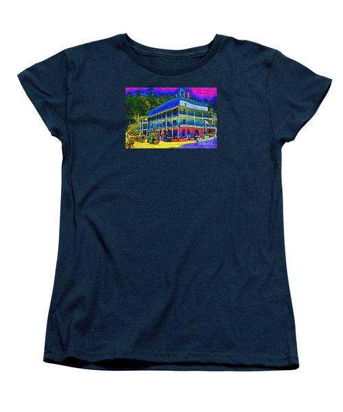 Hotel De Haro Women's T-Shirt (Standard Cut) by Kirt Tisdale