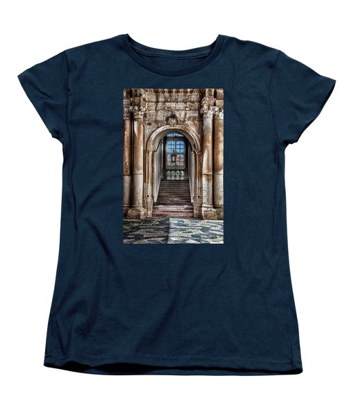 House Entrance Palermo  Women's T-Shirt (Standard Cut) by Patrick Boening