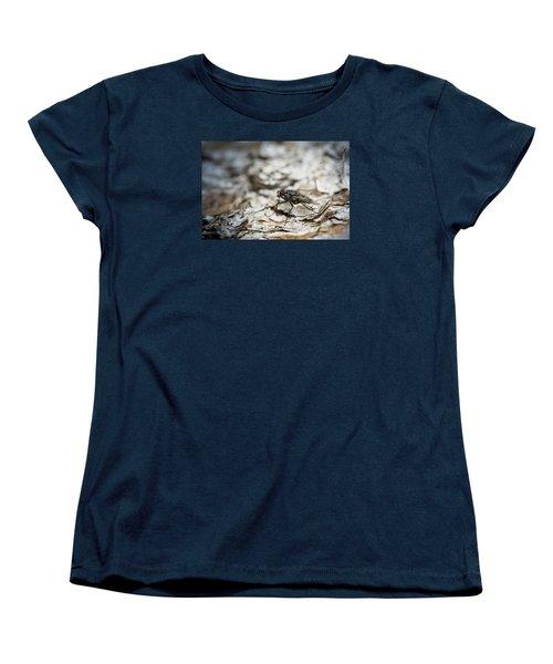 House Fly Women's T-Shirt (Standard Cut) by Chevy Fleet
