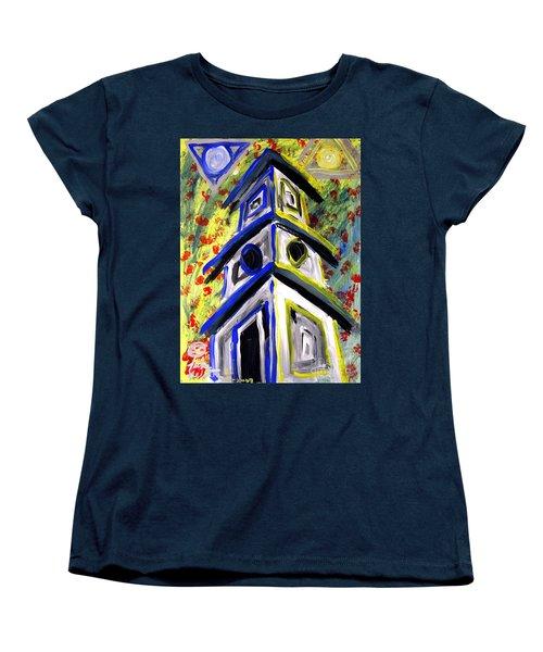House Women's T-Shirt (Standard Cut) by Luke Galutia