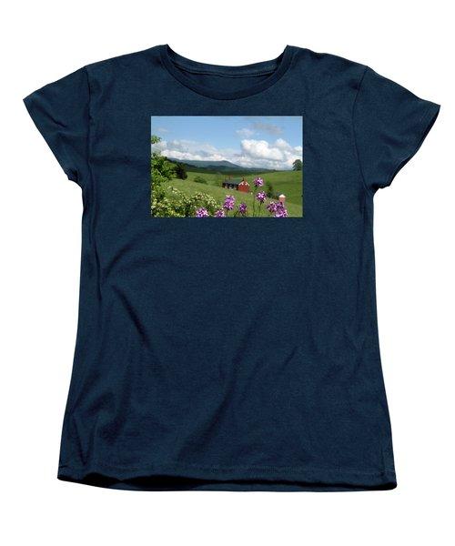 House On Hill In Lexington Women's T-Shirt (Standard Cut)