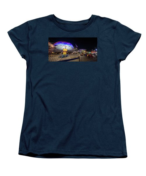 Houston Texas Live Stock Show And Rodeo #10 Women's T-Shirt (Standard Cut) by Micah Goff