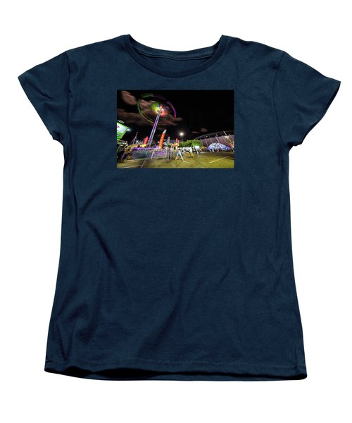 Houston Texas Live Stock Show And Rodeo #7 Women's T-Shirt (Standard Cut) by Micah Goff