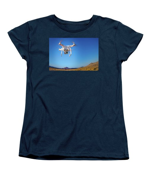 Hover Women's T-Shirt (Standard Cut) by Mark Dunton