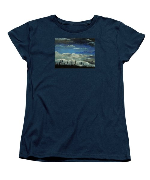 How Majestic Is Your Name Women's T-Shirt (Standard Cut) by Dan Whittemore
