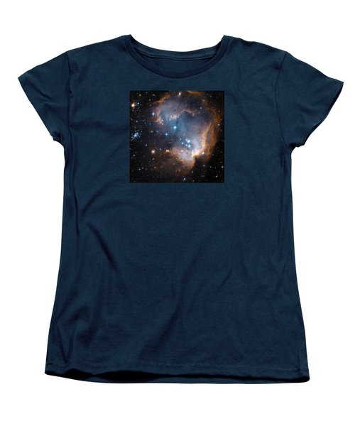 Hubble's View Of N90 Star-forming Region Women's T-Shirt (Standard Cut) by Nasa