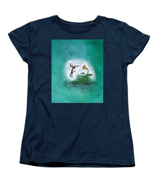 Hummingbird Women's T-Shirt (Standard Cut) by Antonio Romero