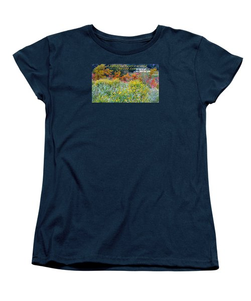 Women's T-Shirt (Standard Cut) featuring the photograph Hundred Hearts by David Norman