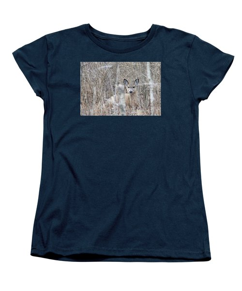 Hunkered Down Women's T-Shirt (Standard Cut) by Brook Burling