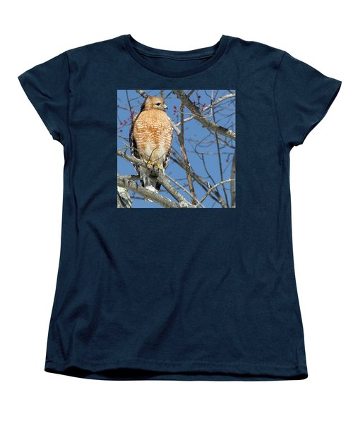 Women's T-Shirt (Standard Cut) featuring the photograph Hunter Square by Bill Wakeley