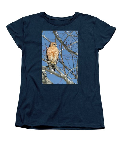Women's T-Shirt (Standard Cut) featuring the photograph Hunting by Bill Wakeley