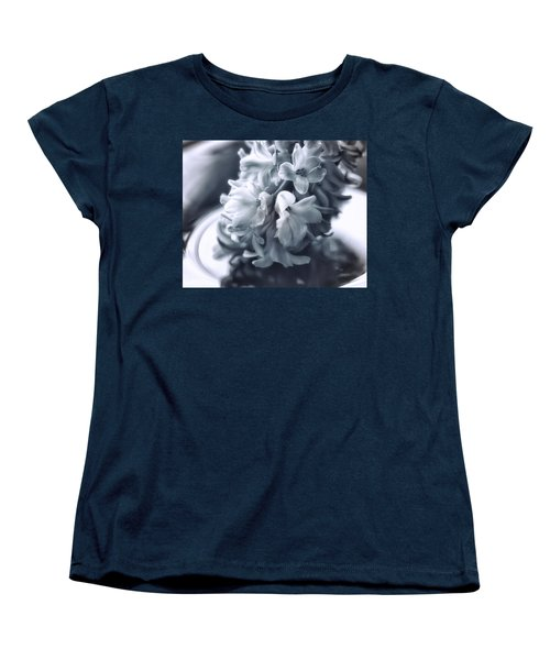 Hyacinth Plated Women's T-Shirt (Standard Cut) by Susan Capuano