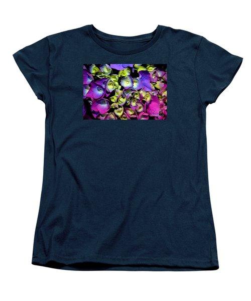 Women's T-Shirt (Standard Cut) featuring the photograph Hydrangea by Vivian Krug Cotton