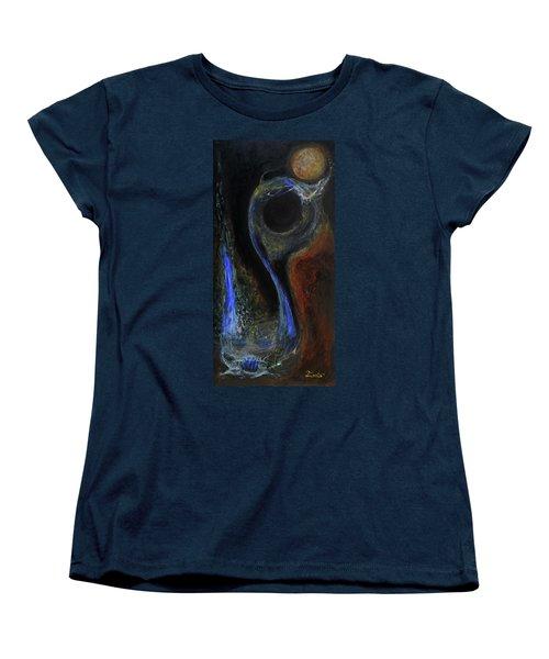 Hydrogen Fiend Women's T-Shirt (Standard Cut) by Christophe Ennis
