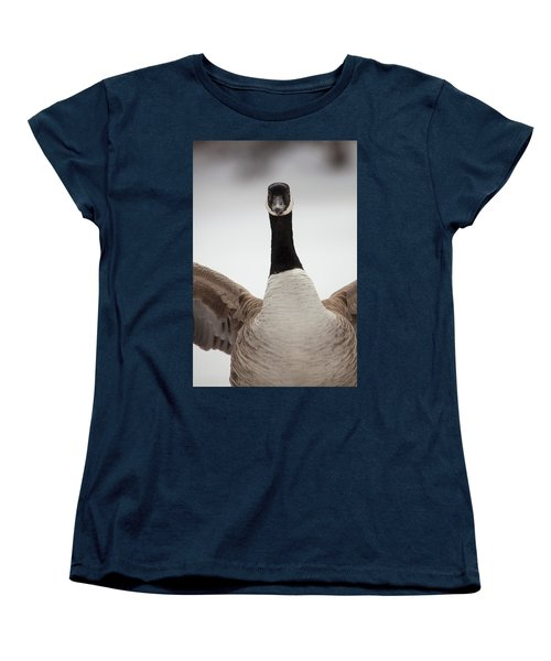 Women's T-Shirt (Standard Cut) featuring the photograph I Am Coming After You by Karol Livote