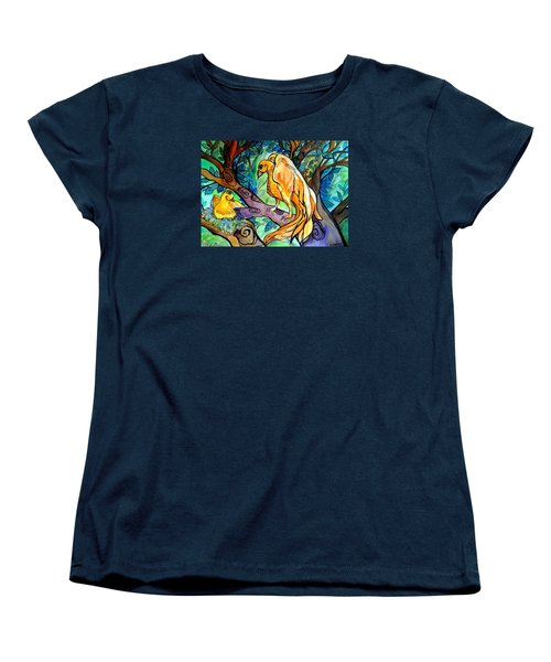I Am Here For You Women's T-Shirt (Standard Cut) by Claudia Cole Meek