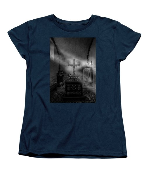 Women's T-Shirt (Standard Cut) featuring the photograph I Am The Light Of The World by David Morefield