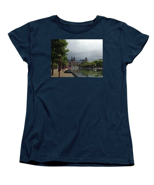 I Amsterdam Women's T-Shirt (Standard Cut) by Therese Alcorn